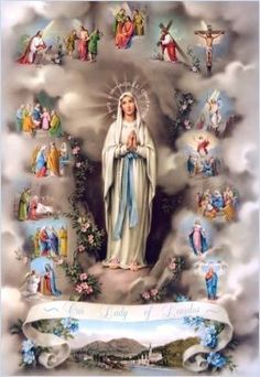 Santo Rosario on line