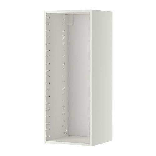 METOD Väggskåpsstomme IKEA 25 års garanti. Läs om villkoren i garantibroschyren. Stommens konstruktion är rejäl; 18 mm tjocklek.