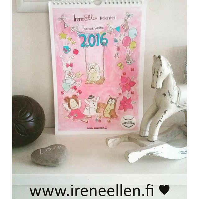 SnapWidget | Osta suloinen kalenteri lahjaksi tai itsellesi. #kalenteri #seinäkalenteri #kalenteri2016 Kalentereita saatavilla vain rajattu erä. ❤️