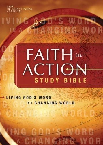 NIV Faith in Action Study Bible eBook: Living God's Word in a Changing World (New International Version)