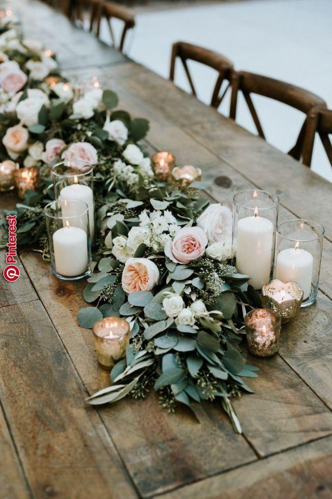 Pfirsich Erroten Und Grune Blumen Girlanden Hochzeits Geschirr Ideen Girlande Hochzeit Blumengirlanden Hochzeit Hochzeitsblumen