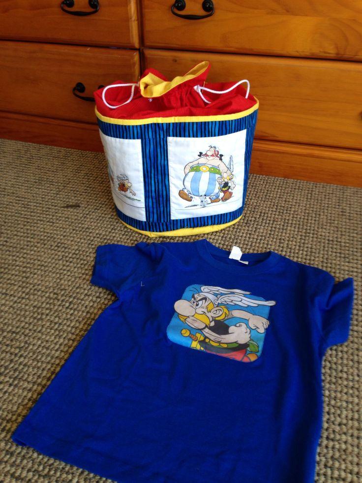 Birthday bag for 5 year old Samuel