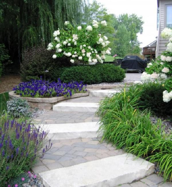 Walkway in a small garden garden pinterest for Garden design channel 4