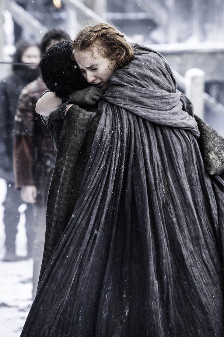 """Sansa & Jon 6.04 - """"Book of the Stranger"""""""