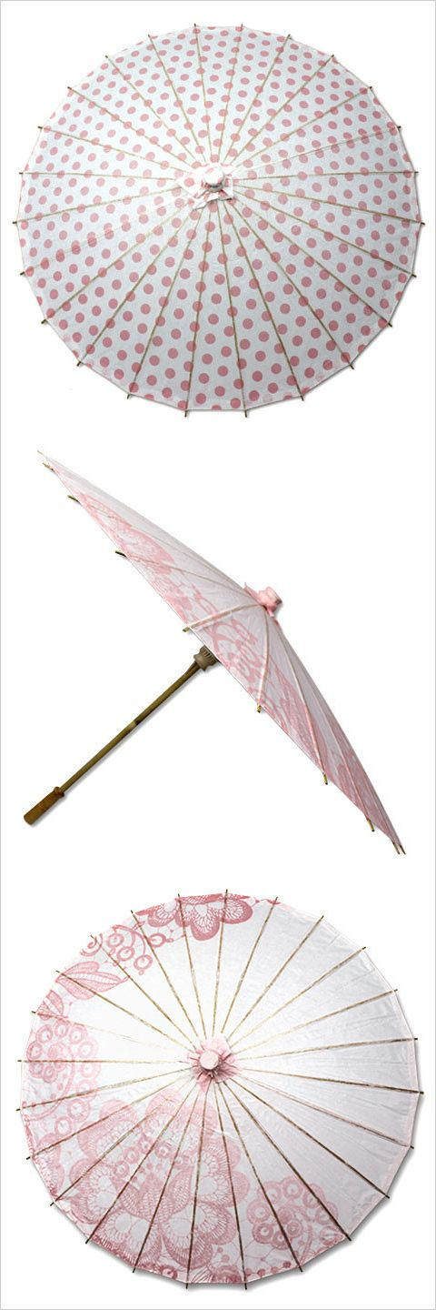 Accessorize your ladies with these pretty parasols! Shop: Parasols by Design http://www.parasolsbydesign.com/