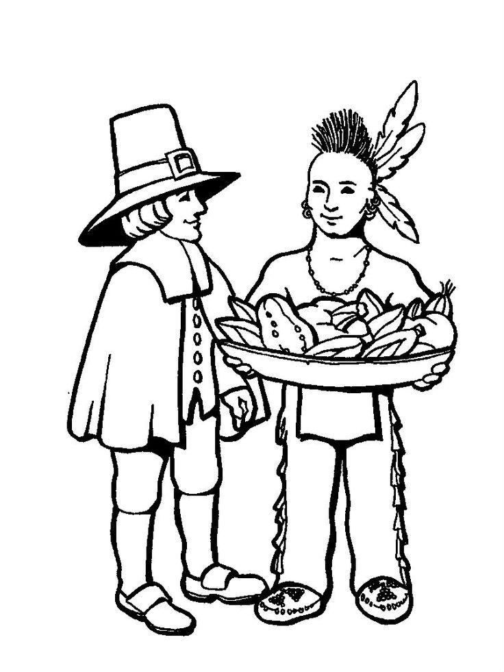 Indians Provide Food