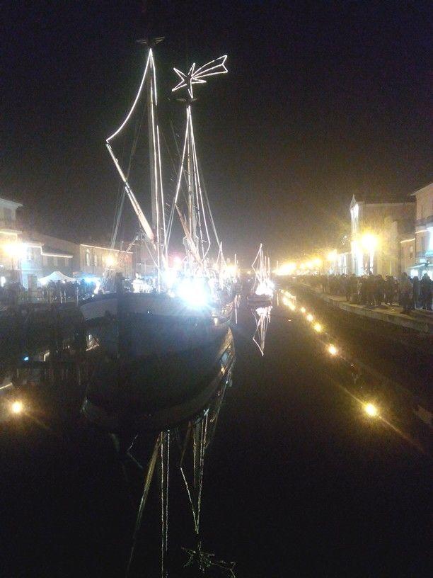Cesenatico. Porto canale Leonardo da Vinci.