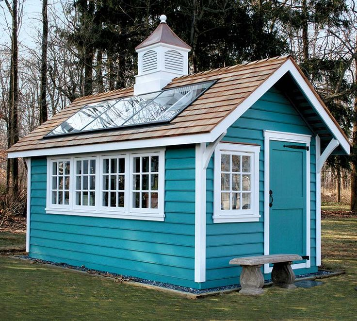 how to design a shed for your old house