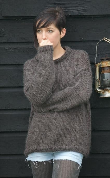 Knitting Pattern Basic Jumper : 17+ best ideas about Sweater Knitting Patterns on Pinterest Knitting patter...