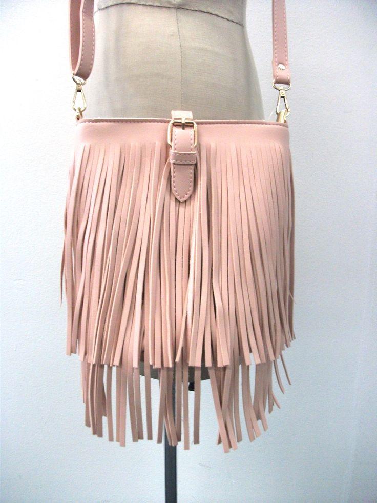 BG65876 Shoulder fringe bag