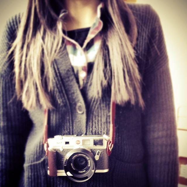 by datatw, via Flickr  #camera #photographer #female