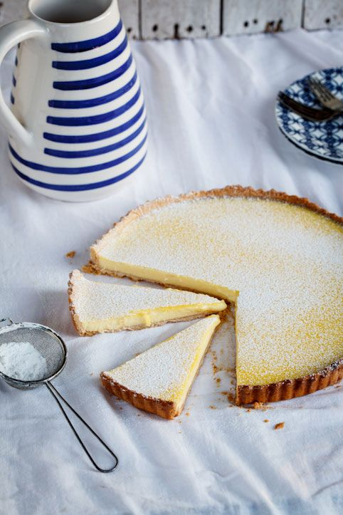 The ultimate lemon tart - this looks like it could be a winner.