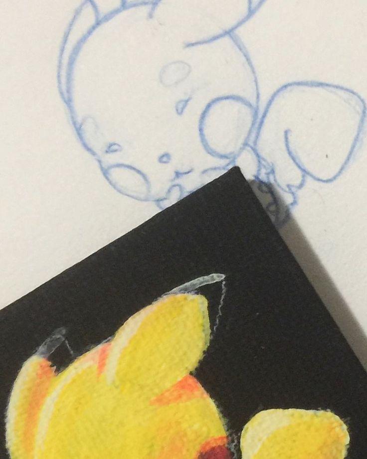 who's that Pokemon #art #whosthatpokemon #acrylic #pikachu #artnerd #gallery #fanart #instart #draw #drawing #pokemon #pokeart #pokemonart #pokemonfanart #yellow #cut #cutepokemon #pokefans #cutepikachu #cutepokemon #litel #adorabel #love #pokemongo #pokemonsun #proses #sketchbook #artis #instagay #lovepokemon #socutee