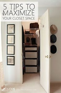 Lovely Best 25+ Maximize Closet Space Ideas On Pinterest | Condo Decorating,  Organizing Small Closets And Space Saving Ideas For Home