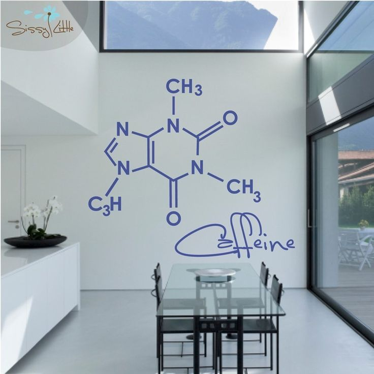 Party Molecules - 1 Large - Vinyl Wall Decal. $79.99, via Etsy.