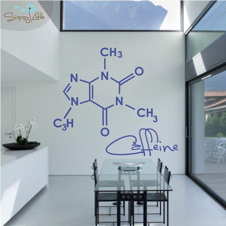 Party Molecules - 1 Large - Vinyl Wall Decal. $79.99, via Etsy.