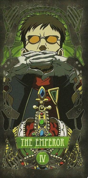 Evangelion - IV – The Emperor – Gendo Ikari by Gainax *