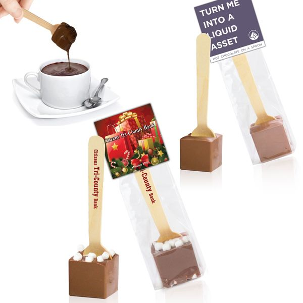 Hot Chocolate on a Stick Corporate Gifts | Chocomize
