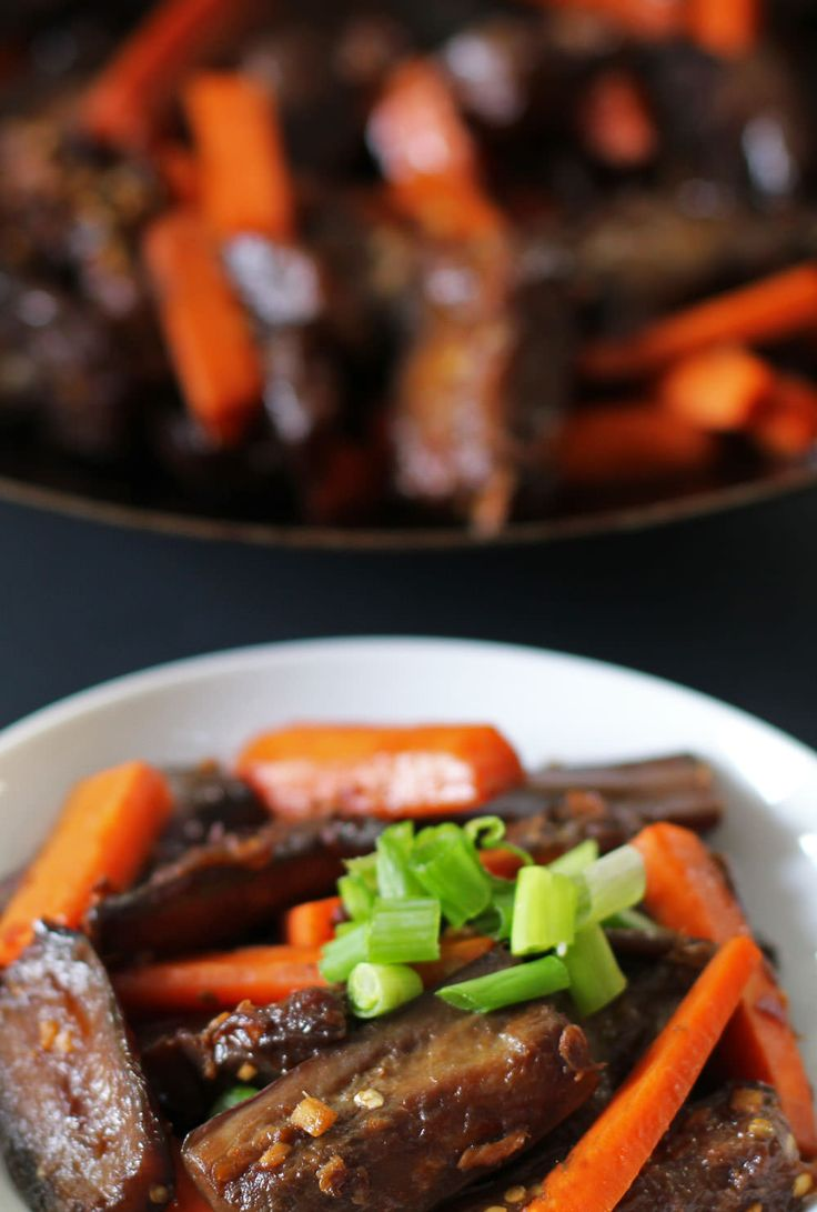 This spicy eggplant and carrot dish is inspired by the spicy eggplant dishes served in Szechuan-style restaurants - but healthier and more delicious.