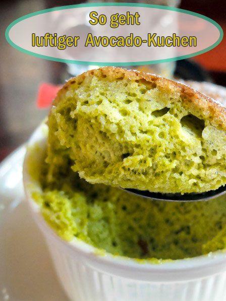 Wir lieben Avocado! Und mit dem gesunden Fett der Frucht wird der Kuchen besonders saftig.