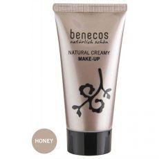 Benecos Flawless Face Matte Foundation Honey|poeder & foundation|make-up|mooi & gezond - Vivolanda
