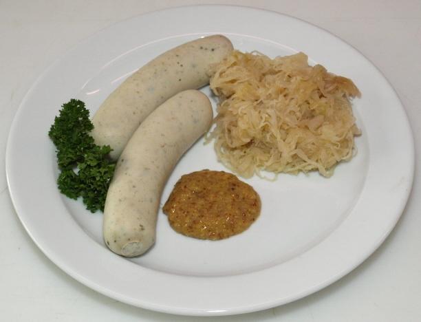 Weißwurst & Sauerkraut
