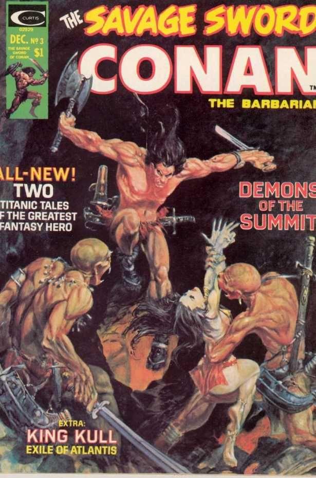 Savage Sword Of Conan 24 Mangaforever Net Fumetti Fantasy Comico Conan Il Barbaro