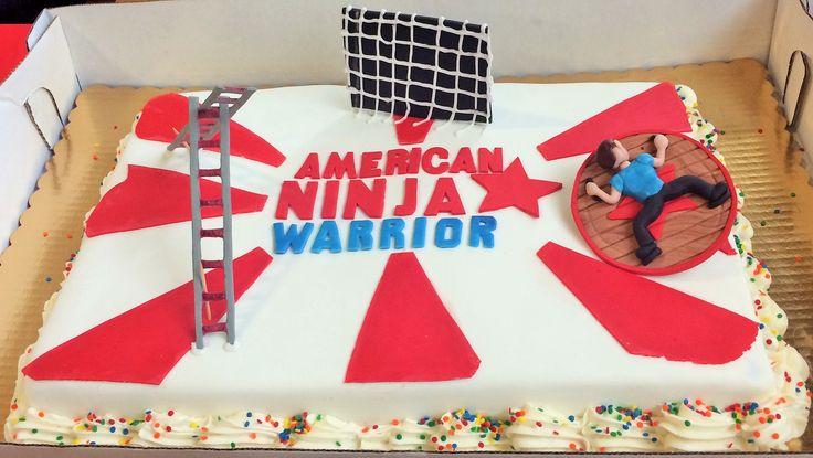 Topper American Cake Ninja Warrior