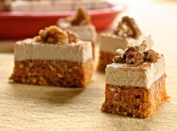Pastelitos de zanahoria (sin gluten)   #Receta de cocina   #Vegana - Vegetariana ecoagricultor.com