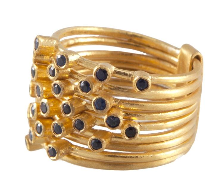 Blue Sapphire Sumani Ring | Lady Kismet
