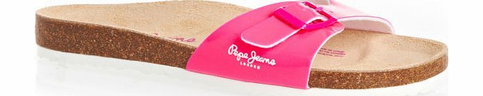 Pepe Jeans Womens Pepe Jeans Oban Flip Flops - Fresh Fuchsia Womens Pepe Jeans flip flops