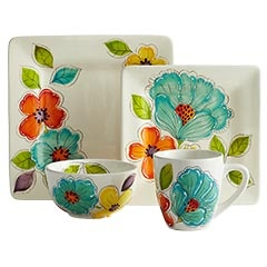 I want this!! This is perfect for my bright kitchen!! Well, when I get a new kitchen.