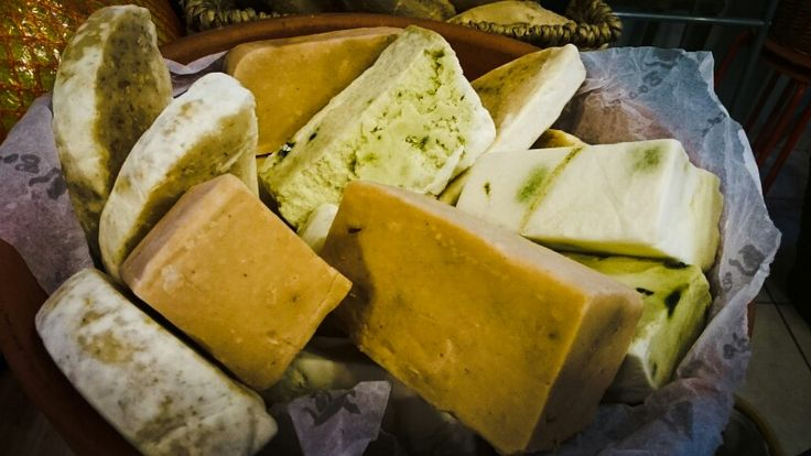 Handmade and homemade soap