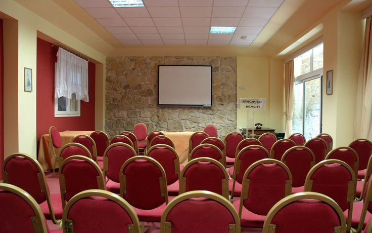 Kriopigi Hotel Meeting room #Halkidiki #Greece  http://kriopigibeach.gr/