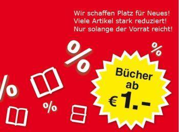 """Weltbild: Frühlings-Sale mit Büchern ab einem Euro frei Haus https://www.discountfan.de/artikel/lesen_und_probe-abos/weltbild-fruehlings-sale-mit-buechern-ab-einem-euro-frei-haus.php Der Amazon-Rivale Weltbild hat einen """"Frühlings-Sale"""" gestartet und bietet Bücher zu Preisen ab einem Euro inklusive Versand an, ein Großteil davon ist für drei Euro zu haben. Außerdem gibt es Buch-Pakete ab 7,99 Euro. Weltbild: Frühlings-Sale mit Büchern ab einem Euro frei"""