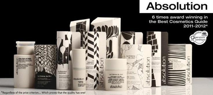 Absolution : Bio-cosmetics and organic cosmetics - and I love the design!