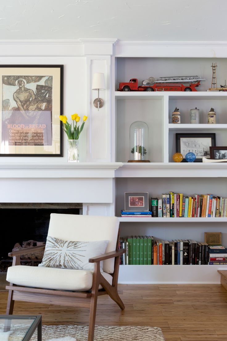 25+ Best Ideas About Fireplace Bookcase On Pinterest