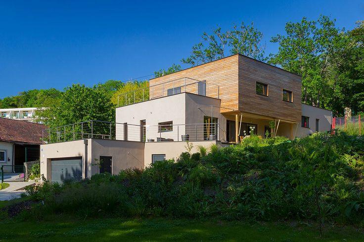 strawbale panels Passivhaus Bad Deutsch Altenburg | createrra | energeticky pasívne domy