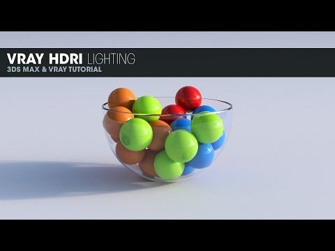 Vray HDRI Lighting in 3DS Max 2014 - YouTube