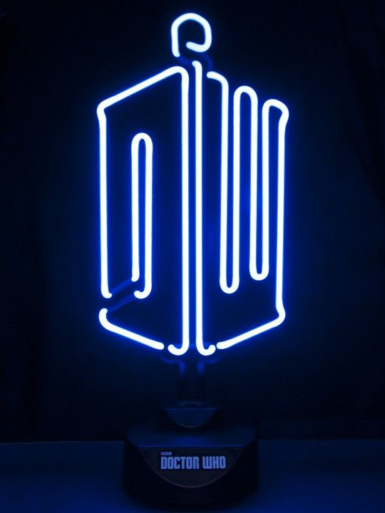 Doctor Who Neon Table Light