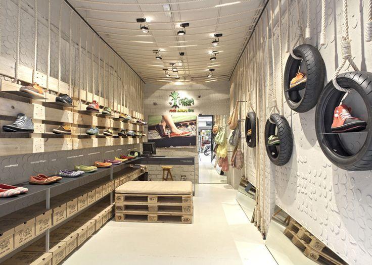 Retail Design | Footware | SoleRebels Shoe Shop Interior By Dom  Arquitectura And Asa Studio