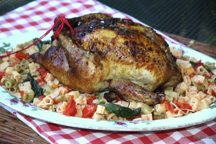 Жареная курица с имбирем по-провансальски – Вся Соль - кулинарный блог Ольги Баклановой