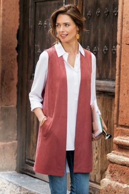 Soft Touch Vest from Soft Surroundings