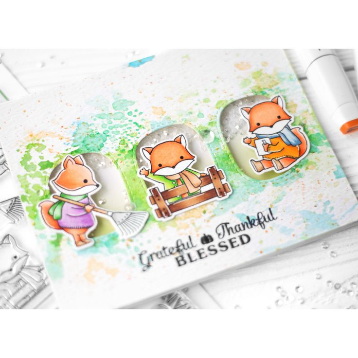 https://flic.kr/p/WfoYtx   Grateful Thankful Blessed   I figured out the weather. It's not summer, it's autumn. That inspired me to create autumn card 😊 Actually, I wanted to attach the fox here, it's so cute 😍 And I dream about monkey to buy, it's cute too. Now I want to relax from interactive marathon, I'm tired of it. And this card is the most simple thing that I can do ♀️😆  #znatka2007 #znatka2007cards #ShinHanArt #touchmarker #touchtwinbrushmarkers #touchmarker #снежнобелоефото…