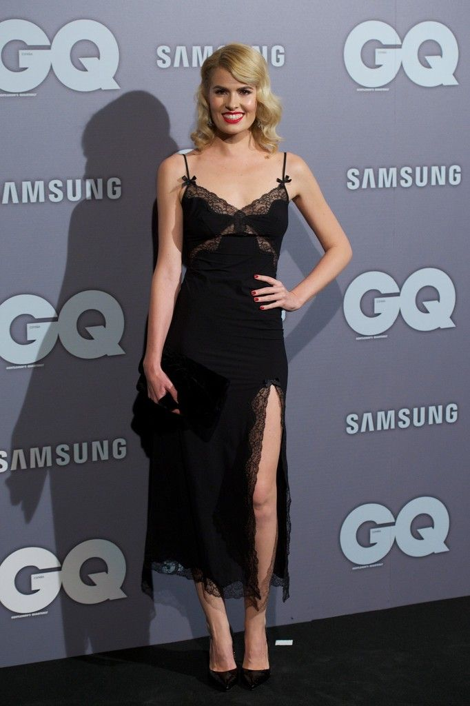 Fabulously Spotted: Adriana Abenia Wearing Agent Provocateur - GQ España Men Of The Year Award 2013 - http://www.becauseiamfabulous.com/2013/11/adriana-abenia-wearing-agent-provocateur-gq-espana-men-of-the-year-award-2013/