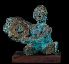 The sun catcher * Die sonnevanger - Bronze - Father Frans Claerhout