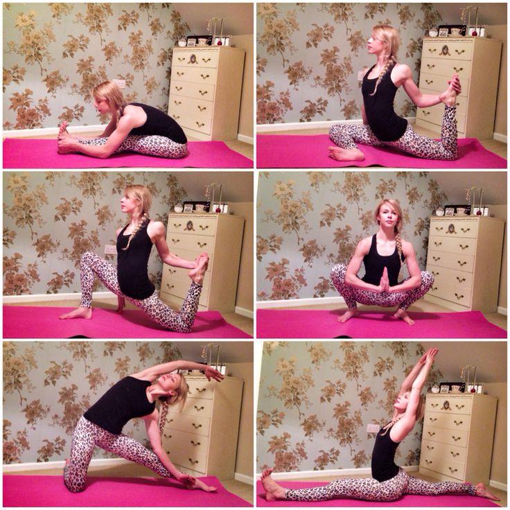 learn to do the splits - lol and ha ha ha ha - I'll add this to The bucket list - at almost 36 that is a trick I am keen to learn ! Doubtful bit trying could be sooooooooooooo funny !