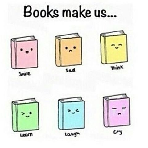 Books take us away from the bad situations in life and put us in places we want to see. Let us be characters we want to be. And tell tales we want to speak. Books take us out of reality - even if it is only for a little while. And if there's anyone who says that books can't do that, talk to someone who's used books as an escape from reality. I have before. And I still do.