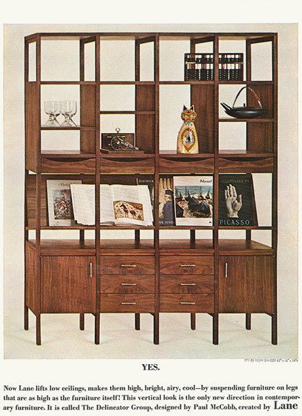 paul mccobb 5 page lane delineator ad mid century furniture