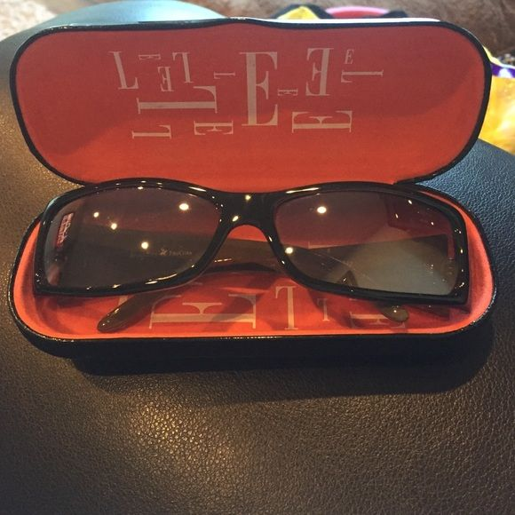 Beverly Hills Polo Club sunglasses Beverly Hills Polo Club sunglasses. Dark brown. Practically new. Worn only a few times. Comes with mismatched sunglasses hard case. Polo by Ralph Lauren Accessories Sunglasses